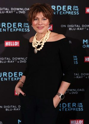 Kate Silverton - 'Murder On The Orient Express' Celebrate the Blu-ray and DVD release in London