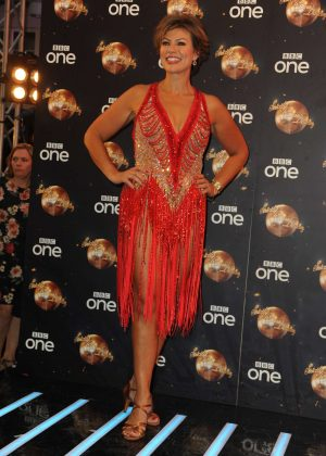 Kate Silverton - Strictly Come Dancing Launch in London