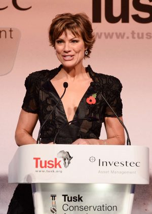 Kate Silverton - Tusk Conservation Awards 2018 in London