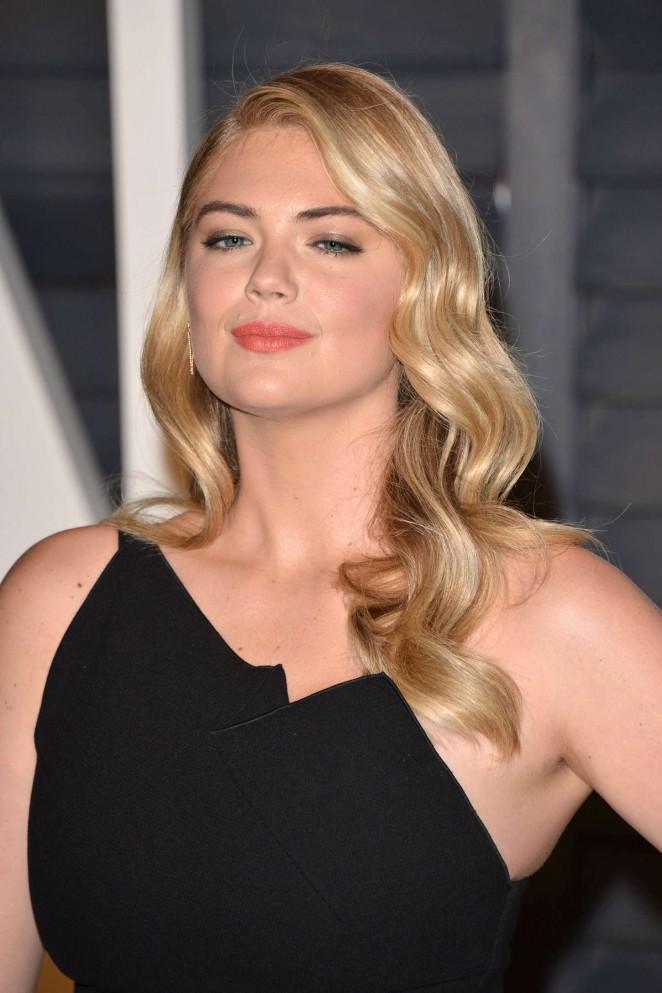 Kate Upton: 2015 Vanity Fair Oscar Party 01  GotCeleb