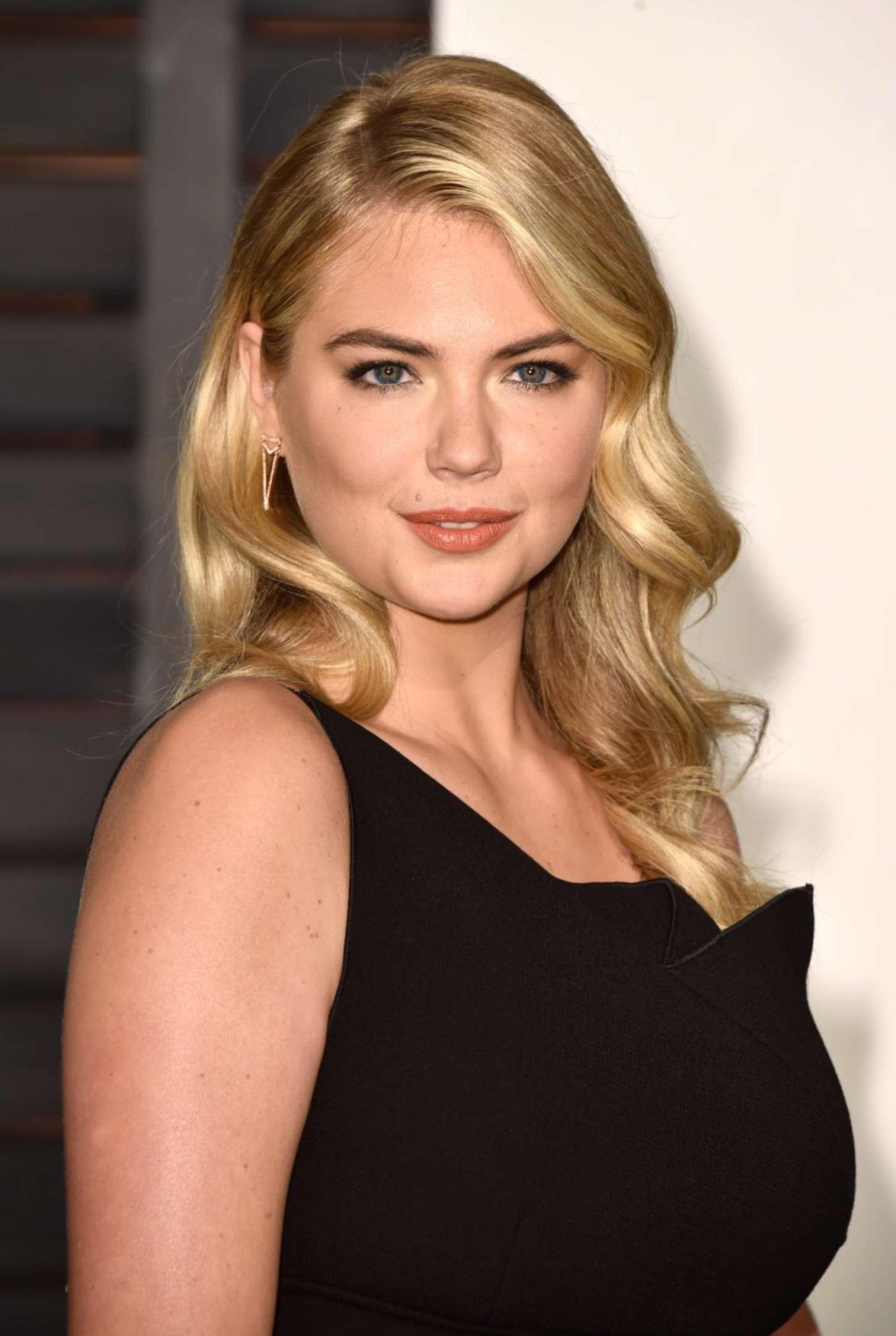 Kate Upton 2015 Vanity Fair Oscar Party In Hollywood Gotceleb