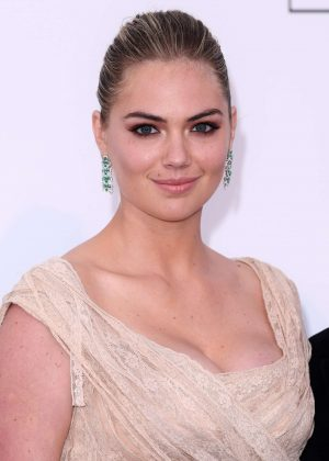 Kate Upton - amfAR's 24th Cinema Against AIDS Gala in Cannes