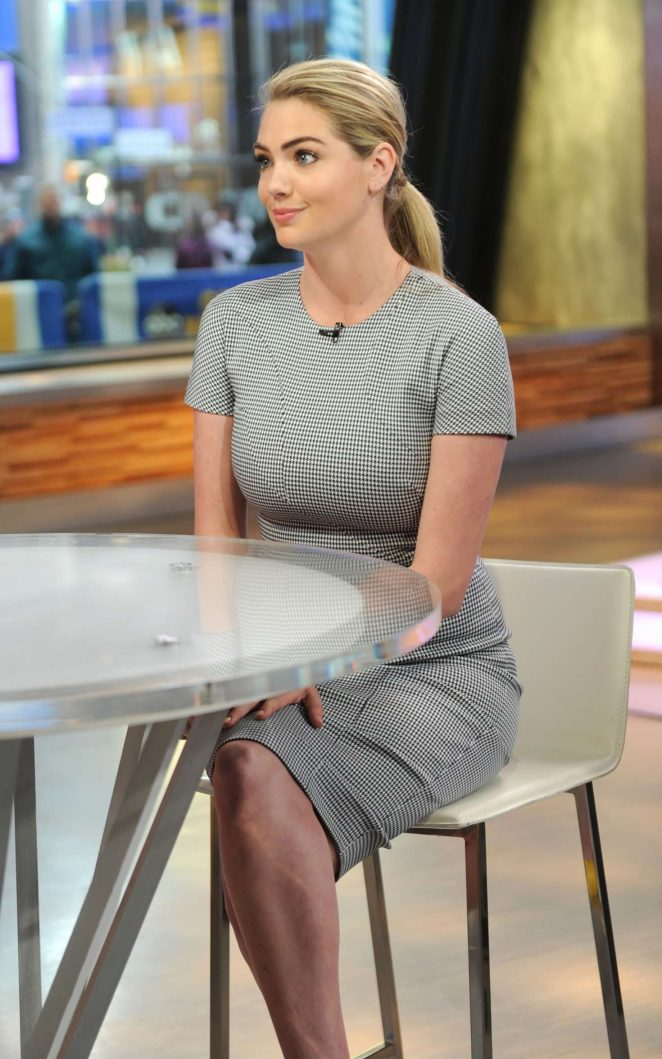 Kate Upton - Appears on 'Good Morning America' in New York