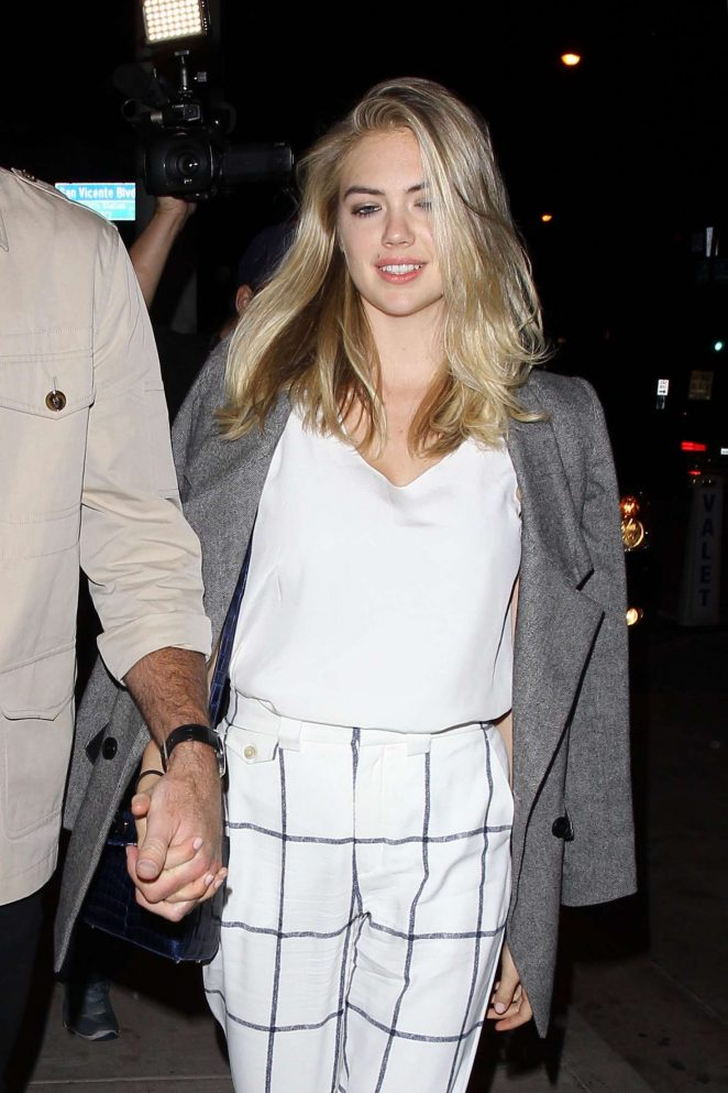 Kate Upton at Catch LA in West Hollywood