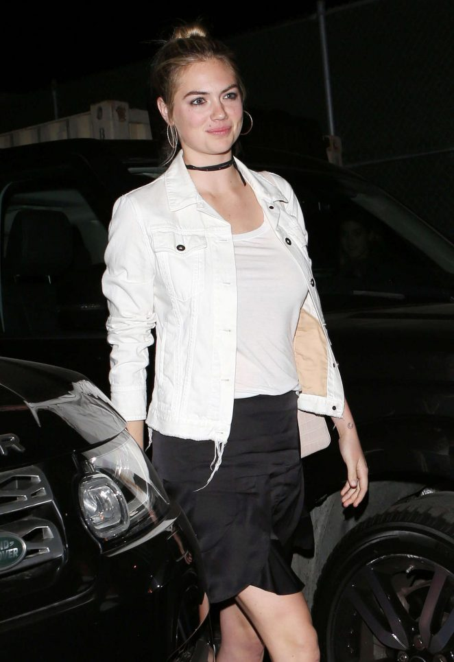 Kate Upton at Craig's in West Hollywood