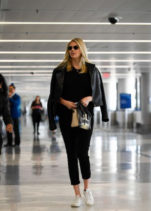 Kate Upton at LAX Airport in Los Angeles