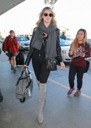 Kate Upton at LAX
