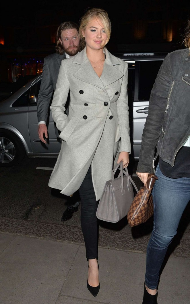 Kate Upton at the Chiltern Firehouse in London
