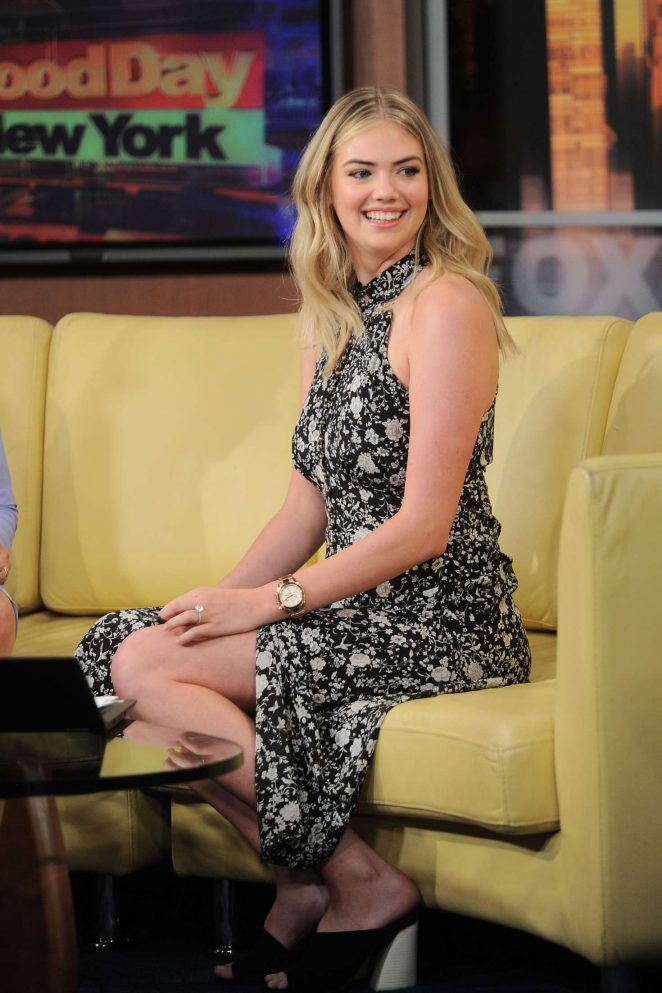 Kate Upton - 'Good Day New York' Morning Show in NY