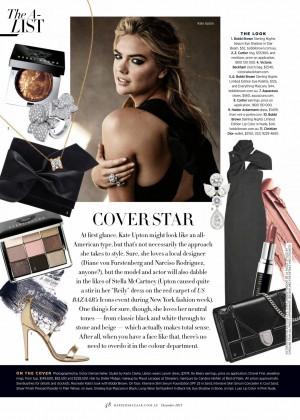 Kate Upton - Harper's Bazaar Australia (December 2015) adds