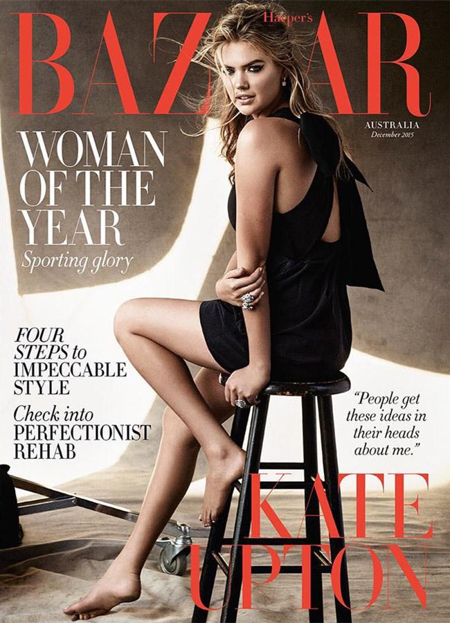 Kate Upton - Harper's Bazaar Australia (December 2015)