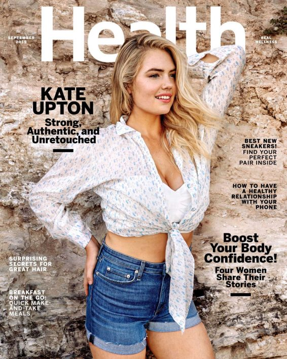 Kate Upton - Health magazine - September 2019