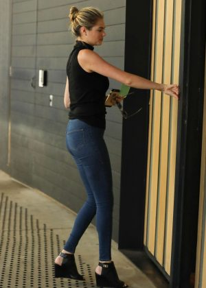 Kate Upton in Skinny Jeans out in Century City