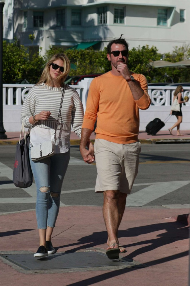 Kate Upton & Justin Verlander Out in Miami