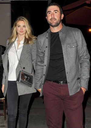 Kate Upton - Leaving Craig's in West Hollywood