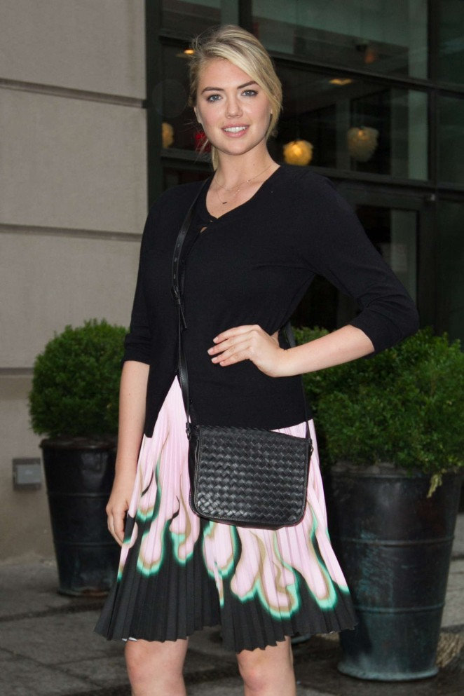 Kate Upton - Leaving the Crosby Street hotel in NYC