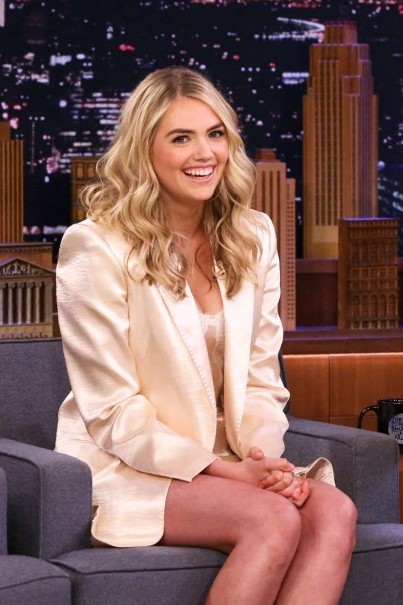 Kate Upton - On 'The Tonight Show Starring Jimmy Fallon' in NYC