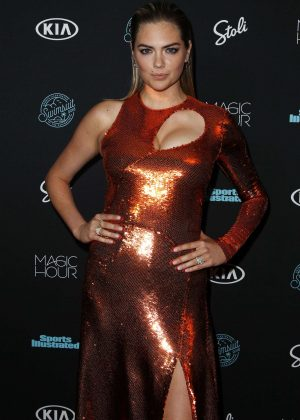 Kate Upton - Sports Illustrated Swimsuit 2018 Launch Event in NY