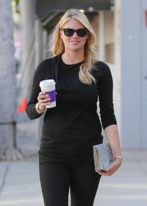 Kate Upton in Jeans Out in Beverly Hills