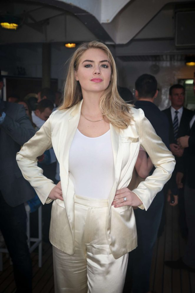 Kate Upton – Tag Heuer yacht party in Monaco