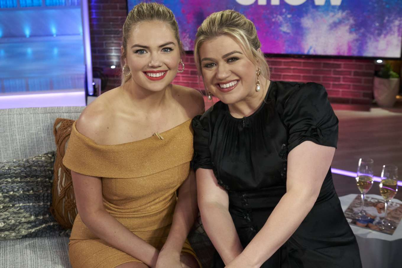Kate Upton - The Kelly Clarkson Show in LA