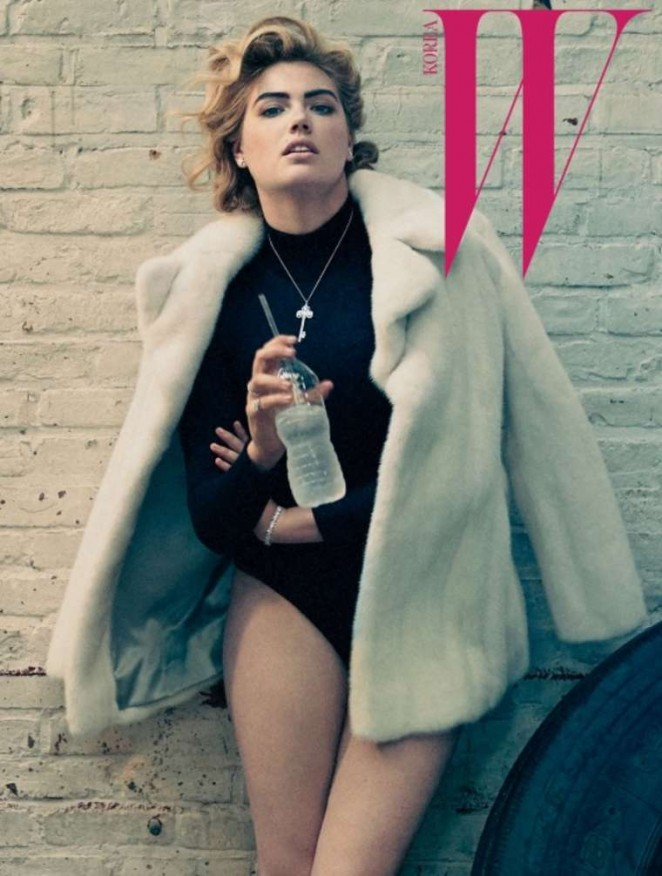 Kate Upton - W Magazine Korea (October 2015)