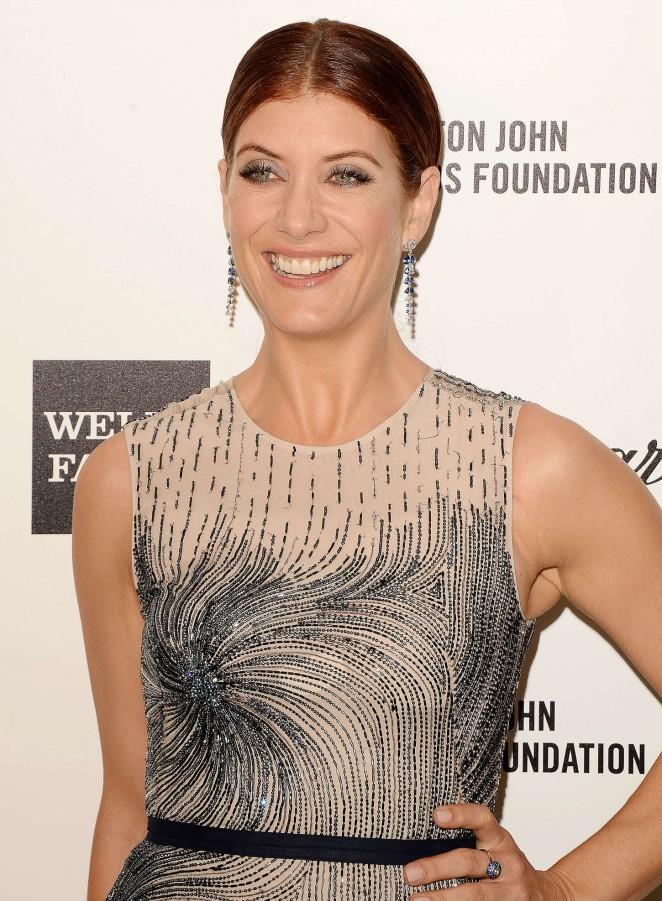 Kate Walsh - Oscars 2015 - Elton John AIDS Foundation Academy Awards Party