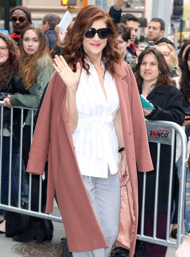 Kate Walsh at AOL Building in New York City