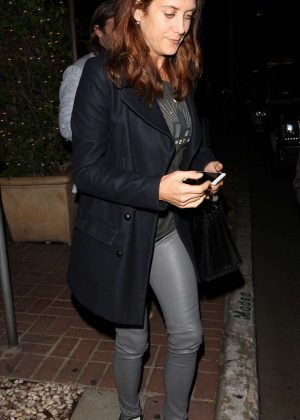 Kate Walsh at 'Madeo' Restaurant in West Hollywood