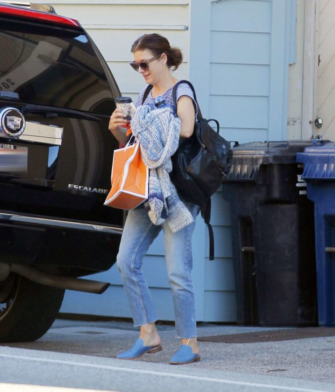 Kate Walsh out shopping in Malibu