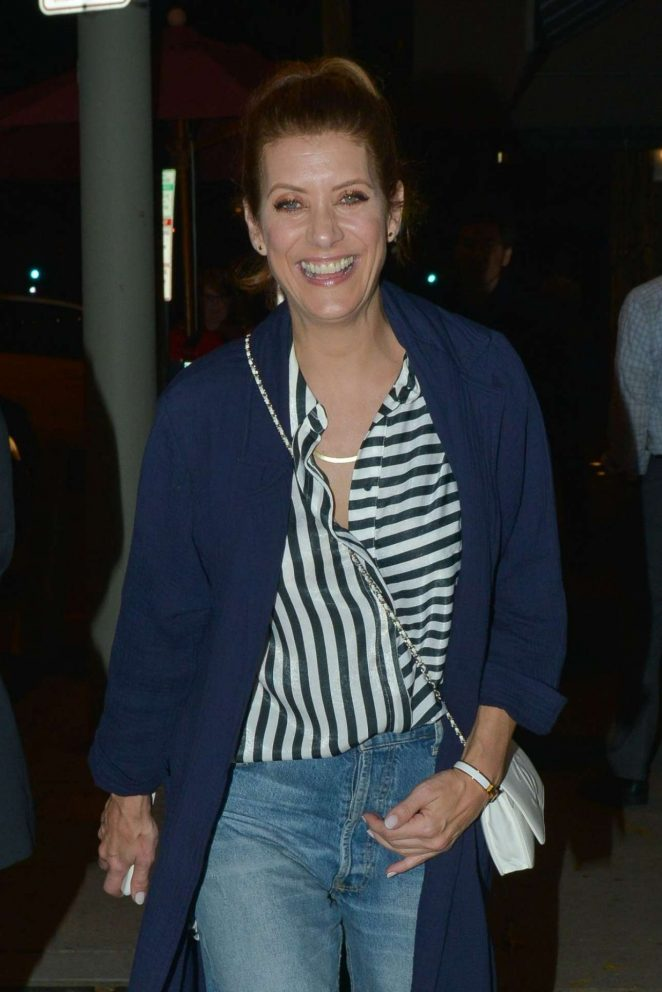 Kate Walsh – Spotted at Craig's Restaurant In West Hollywood
