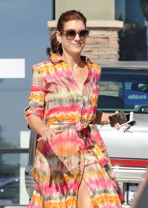 Kate Walsh Stopping in Los Feliz