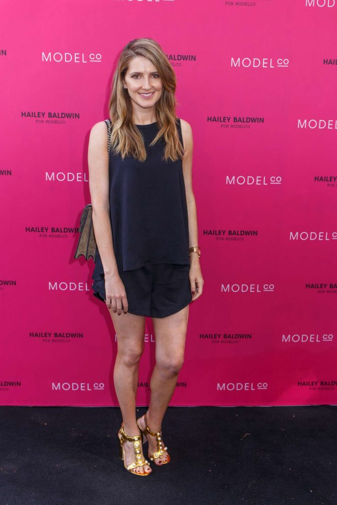 Kate Waterhouse - VIP launch of the Hailey Baldwin for ModelCo Cosmetics Range in Sydney