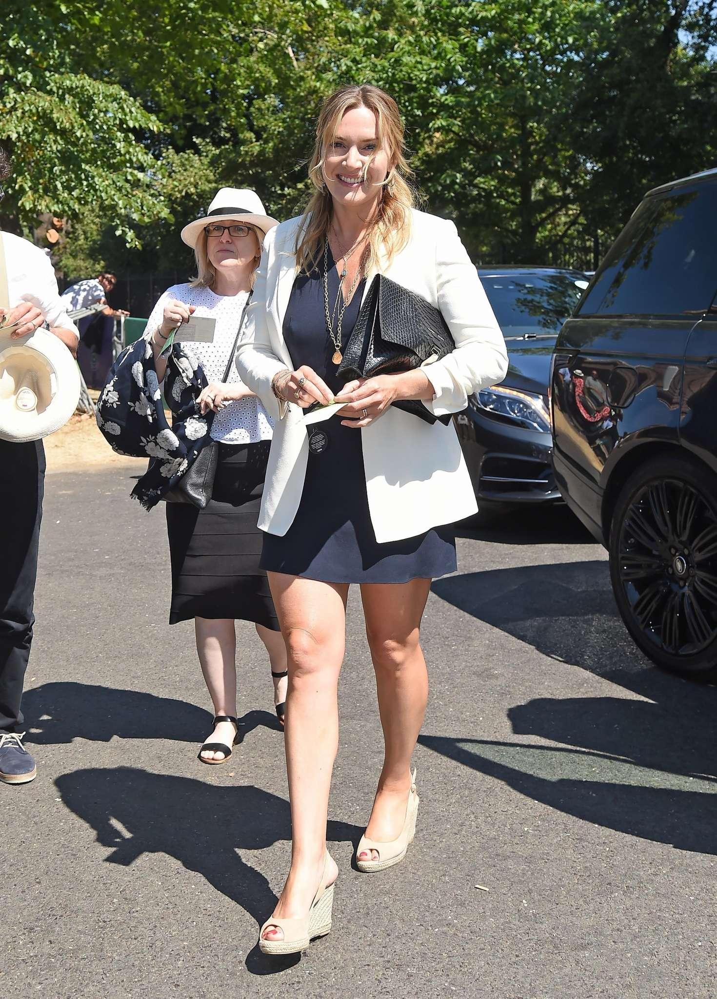 Kate Winslet - 2018 Wimbledon Tennis Championships in London