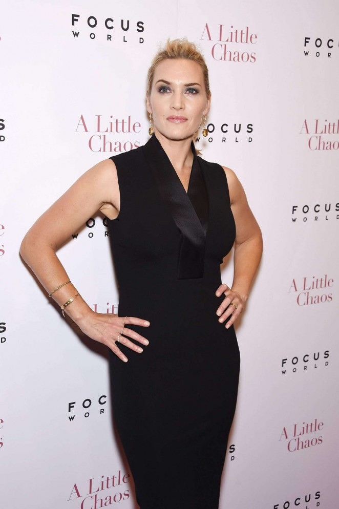 Kate Winslet - 'A Little Chaos' Premiere in New York