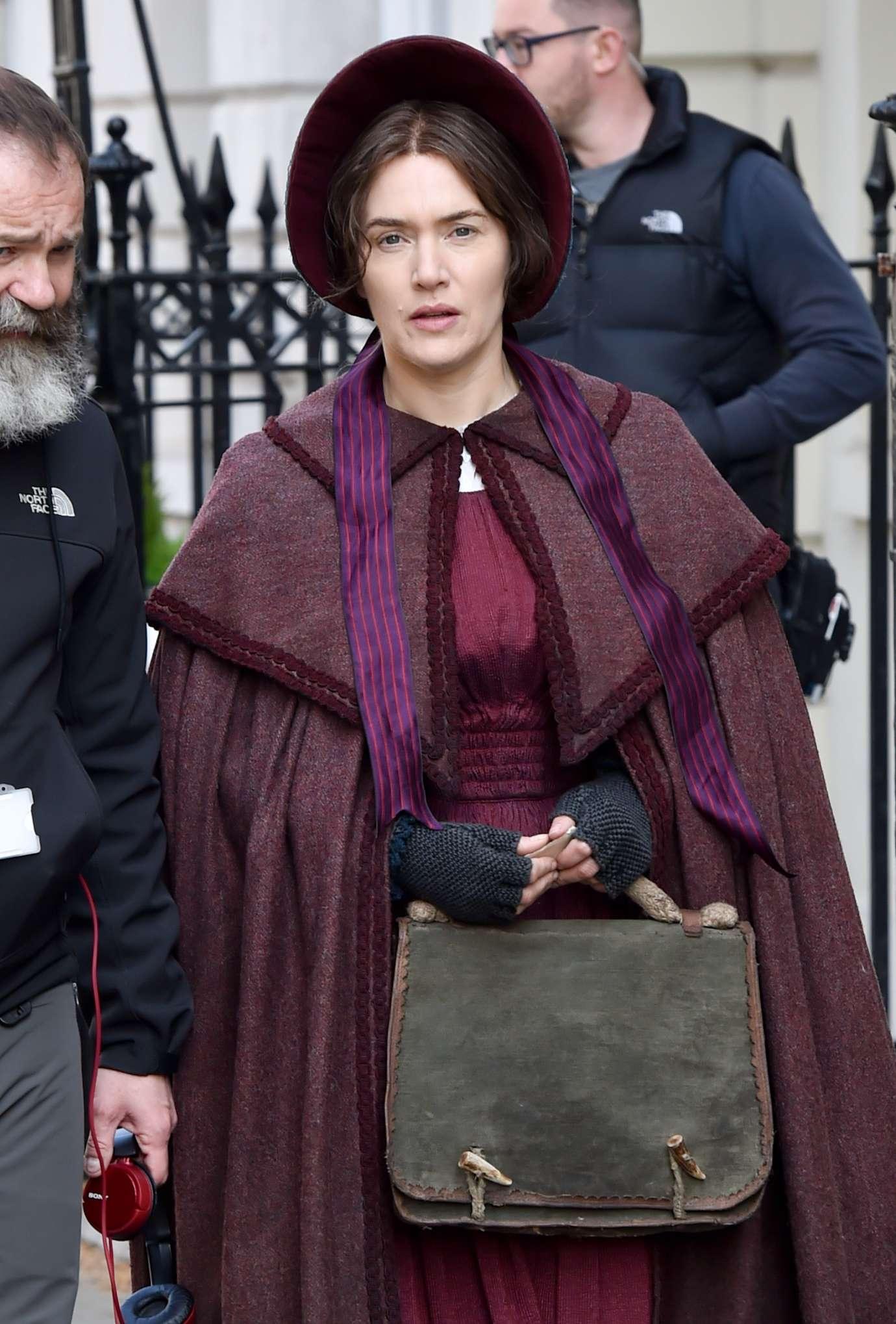 Kate Winslet - Ammonite movie set in London