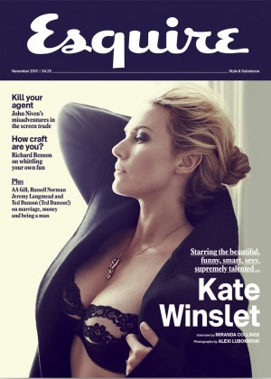 Kate Winslet - Esquire UK Magazine (November 2015)