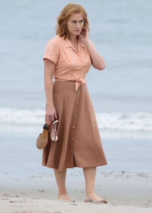 Kate Winslet - Filming at Untitled Woody Allen Project in New York