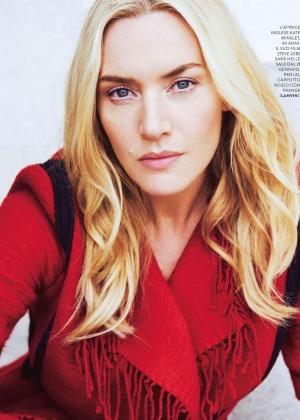 Kate Winslet – Grazia Italy Magazine (January 2016)
