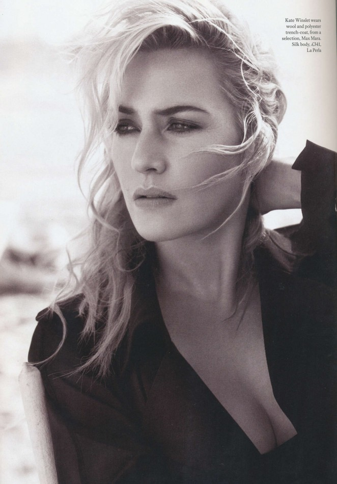 Kate Winslet - Harper's Bazaar UK Magazine (December 2015)