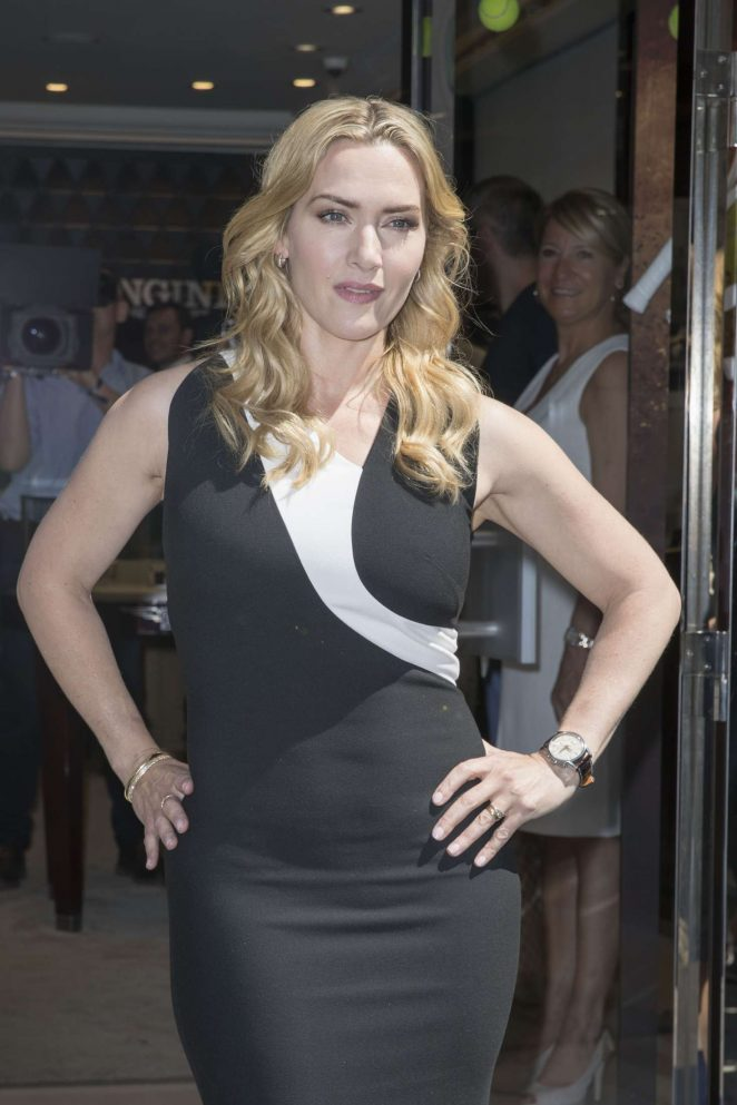 Kate Winslet - Launches the Exclusive Flagship Heritage in Paris