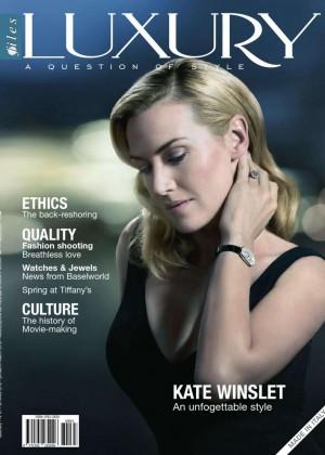 Kate Winslet - Luxury Files Magazine (Spring 2016)