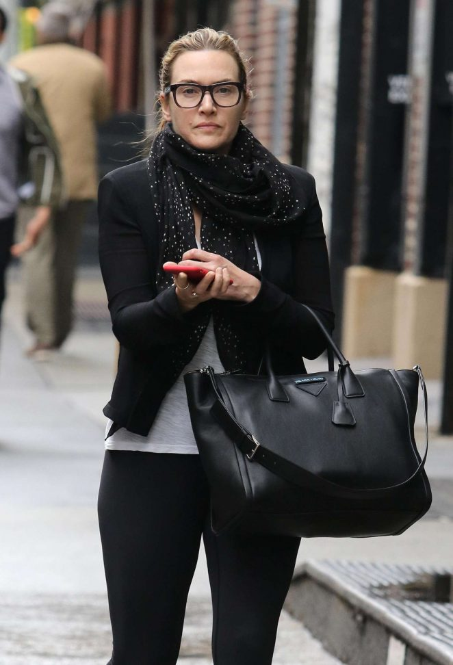 Kate Winslet - Out and about in New York