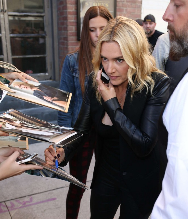 Kate Winslet - Out in Toronto