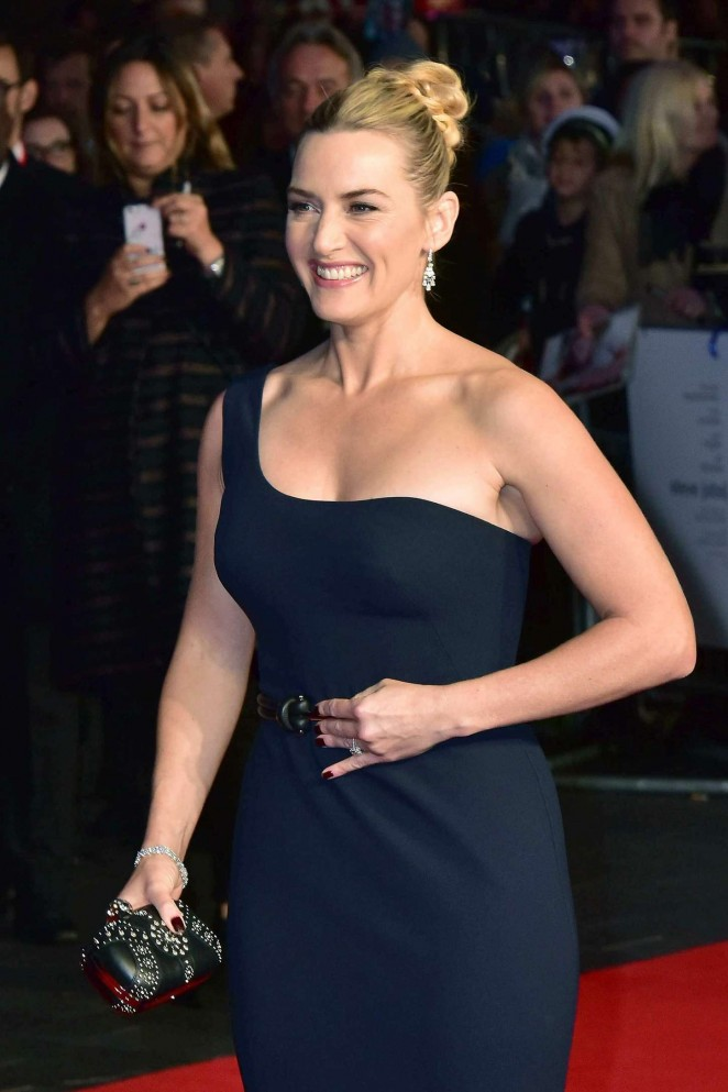 Kate Winslet – 'Steve Jobs' Premiere and Closing Gala of 59th BFI London FF