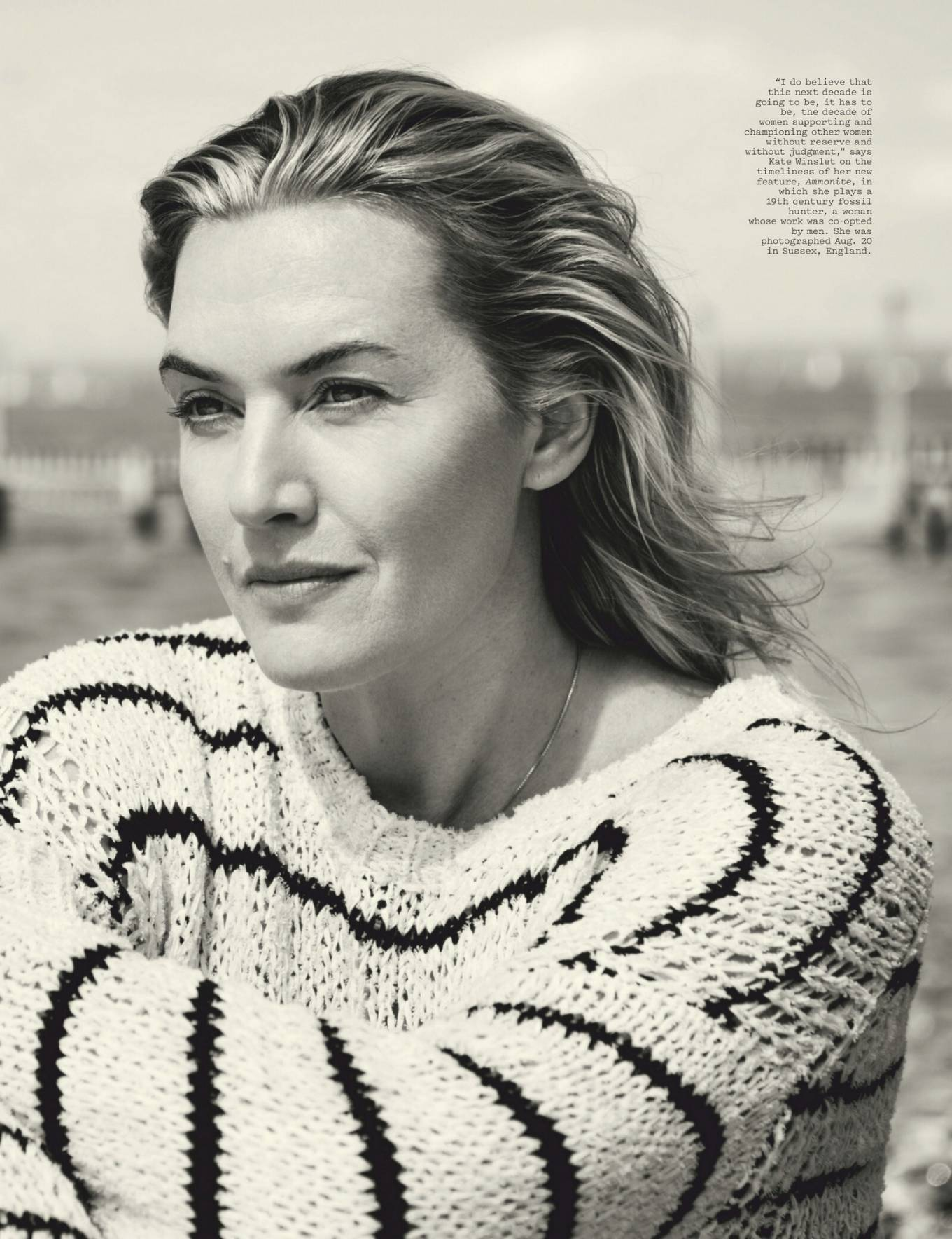Kate Winslet - The Hollywood Reporter Magazine (August 2020 issue)