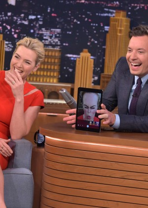 Kate Winslet: The Tonight Show with Jimmy Fallon -01