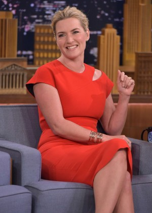 Kate Winslet: The Tonight Show with Jimmy Fallon -02