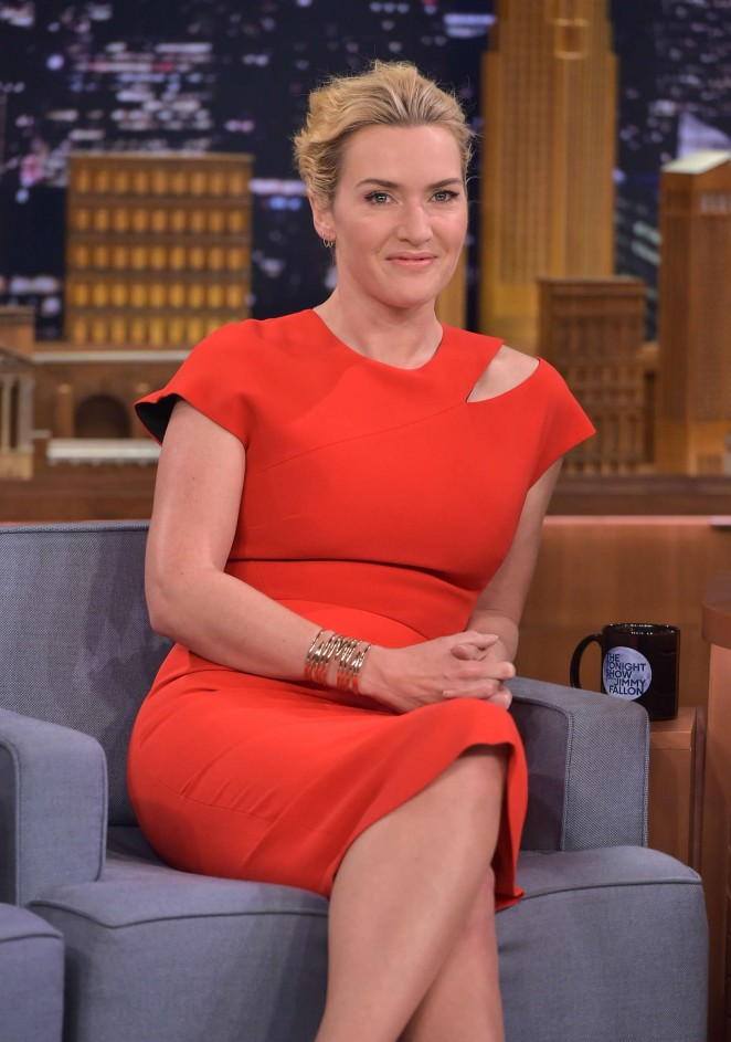 Kate Winslet - 'The Tonight Show with Jimmy Fallon' in NYC