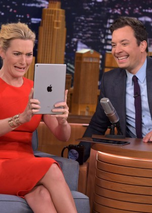 Kate Winslet: The Tonight Show with Jimmy Fallon -06